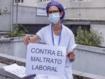 Nueva concentración ante la Consejería de Sanidad de Madrid