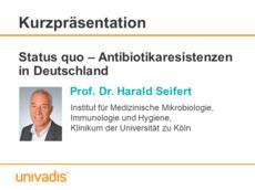 Status quo - Antibiotikaresistenzen in Deutschland