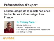Epidémiologie de la résistance chez les bactéries à Gram-négatif en France