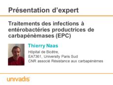 Traitements des infections à entérobactéries productrices de carbapénèmases (EPC)