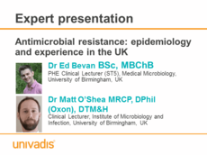 Antimicrobial resistance: epidemiology and experience in the UK