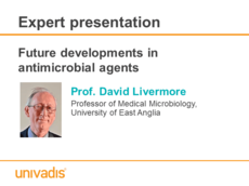 Future developments in antimicrobial agents