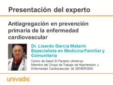 Antiagregación en prevención primaria de la enfermedad cardiovascular