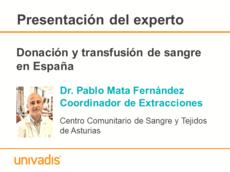 Donación y transfusión de sangre en España