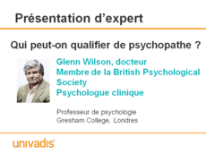 Qui peut-on qualifier de psychopathe ?