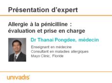 Allergie à la pénicilline : évaluation et prise en charge
