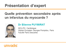 Quelle prévention secondaire après un infarctus du myocarde ?