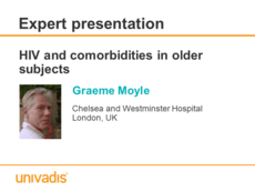 HIV and comorbidities in older subjects