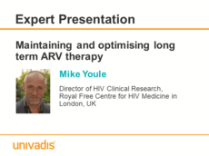 Maintaining and optimising long term ARV therapy