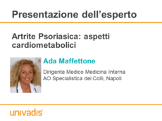 Artrite Psoriasica: aspetti cardiometabolici