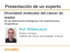 Diversidad molecular del cáncer de mama De las definiciones biológicas a las implicaciones terapéuticas